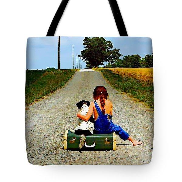 Summer Daze Tote Bag