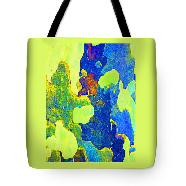 Summer Eucalypt Abstract 14 Tote Bag
