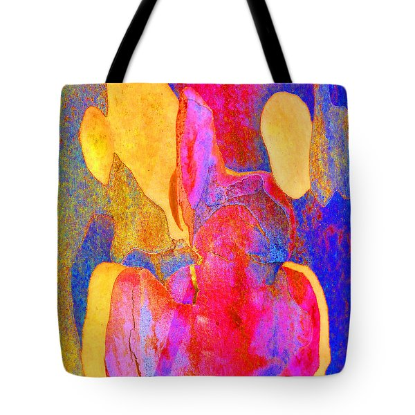 Summer Eucalypt Abstract 24 Tote Bag by Margaret Saheed