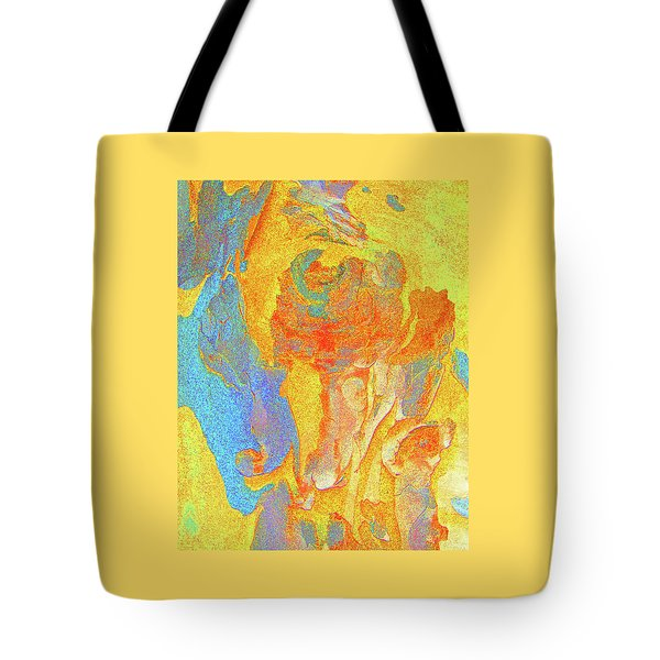 Summer Eucalypt Abstract 3 Tote Bag