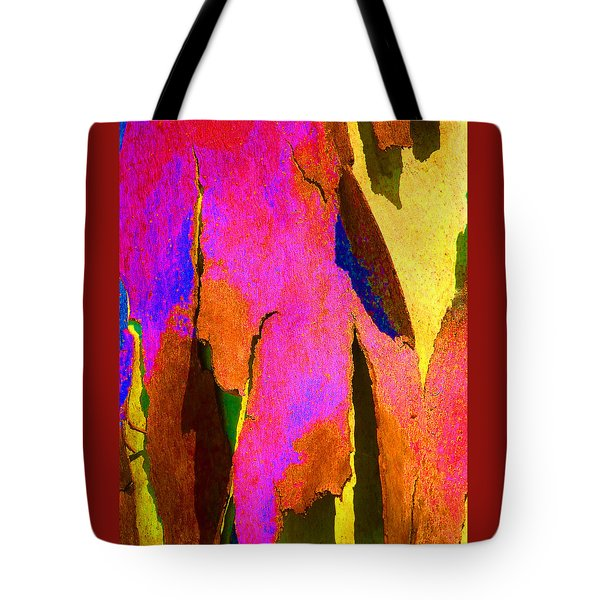 Summer Eucalypt Abstract 8 Tote Bag