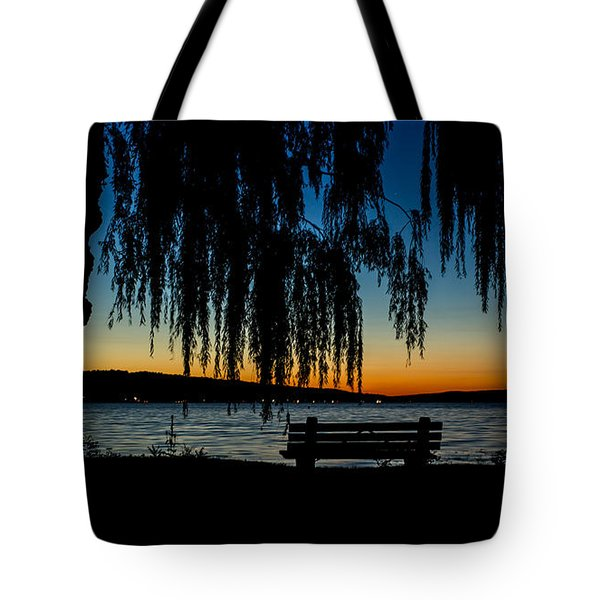 Summer Evening At Stewart Park Tote Bag
