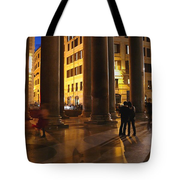 Summer Evening In Rome Tote Bag by Evelyn Tambour