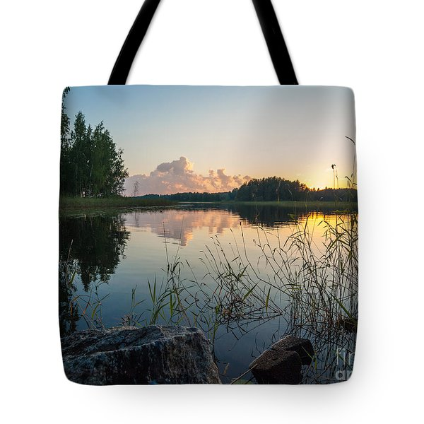 Summer Evening To Remember Tote Bag