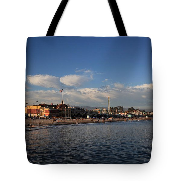 Summer Evenings In Santa Cruz Tote Bag
