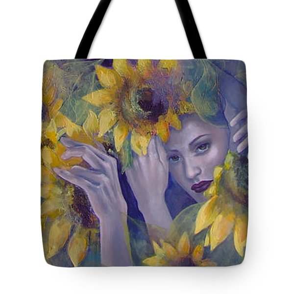 Summer Fantasy Tote Bag by Dorina  Costras