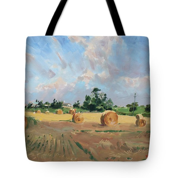 Summer Fields In Georgetown On Tote Bag