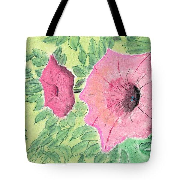 Summer Flowers Tote Bag by David Jackson