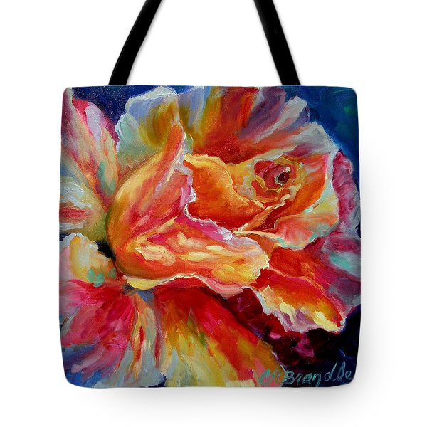 Summer Fragrance Tote Bag