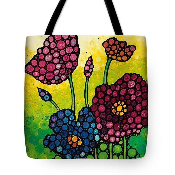 Summer Garden 2 Tote Bag by Sharon Cummings