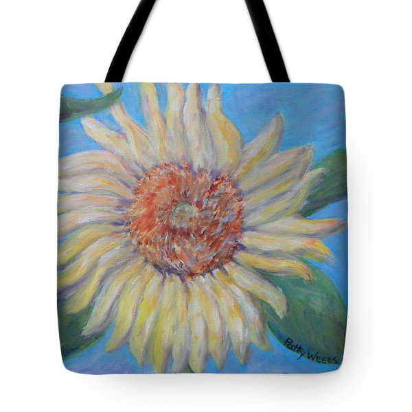 Summer Garden Sunflower Tote Bag by Patty Weeks