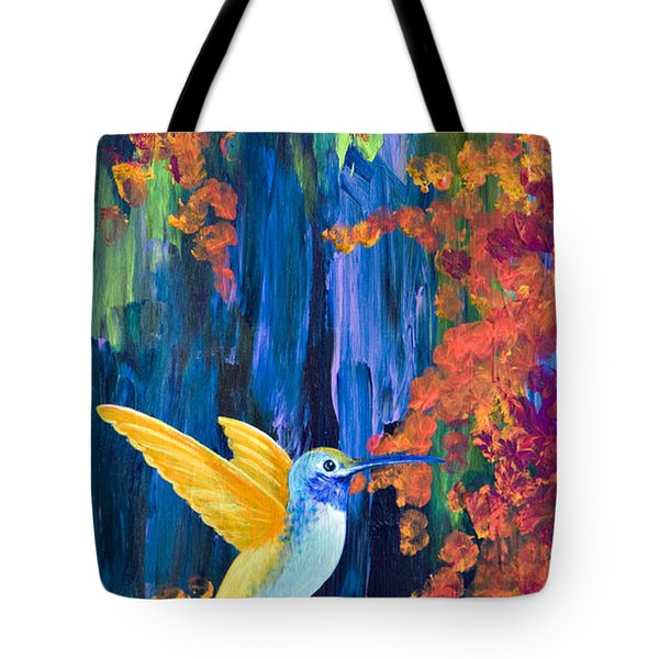 Summer Garden Tote Bag by Tracy L Teeter