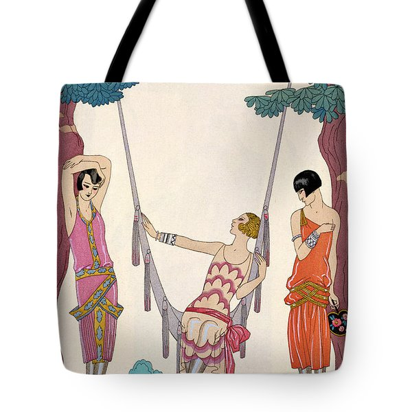 Summer Tote Bag by Georges Barbier