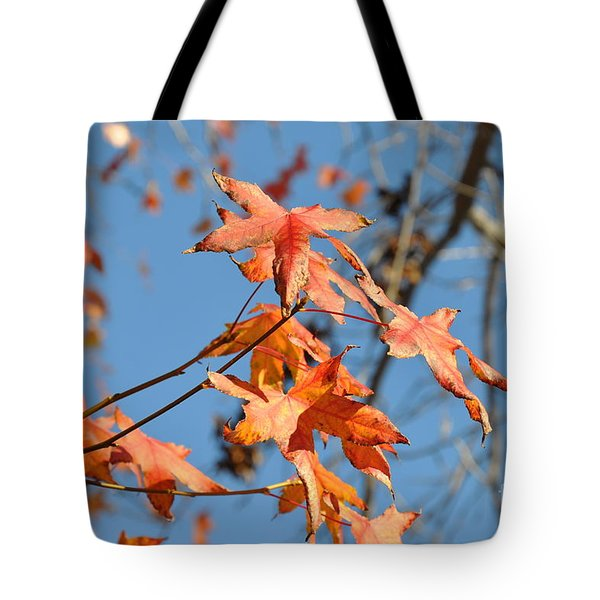 Summer Gold Leaf Tote Bag