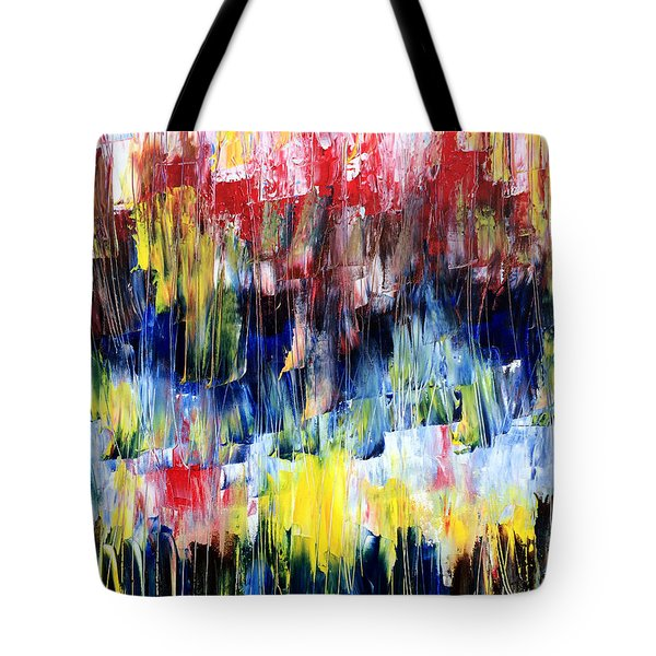 Summer Haze Tote Bag by Rebecca Davis