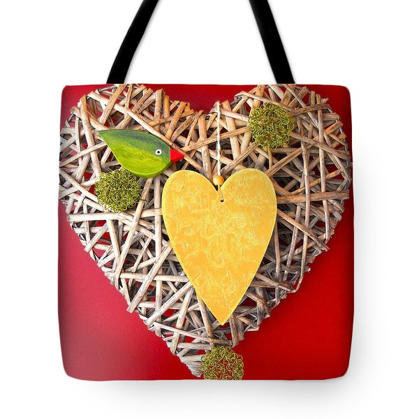 Tote Bag featuring the photograph Summer Heart by Juergen Weiss