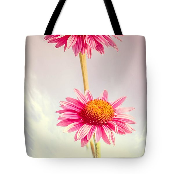 Summer Impressions Cone Flowers Tote Bag by Bob Orsillo