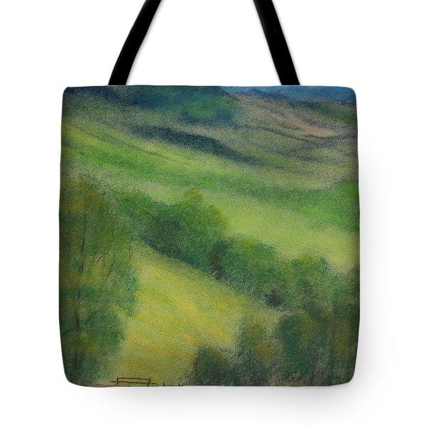 Summer In England Tote Bag by Ewa Hearfield