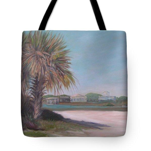 Summer Island Tote Bag