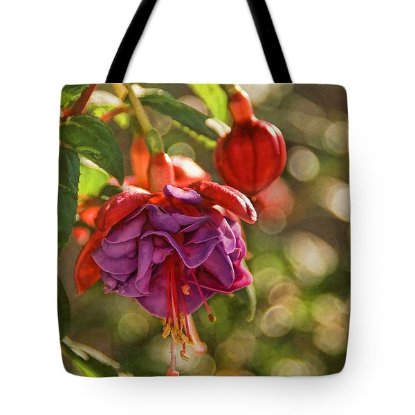 Summer Jewels Tote Bag by Peggy Hughes