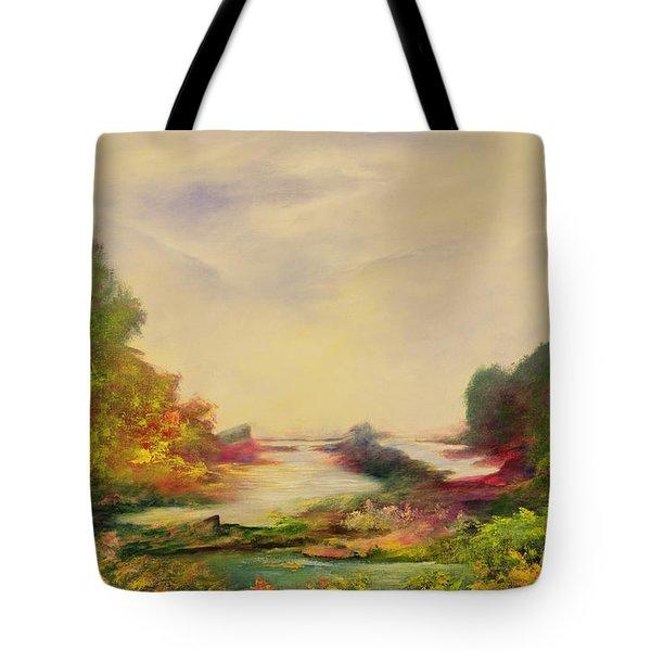 Summer Joy Tote Bag by Hannibal Mane