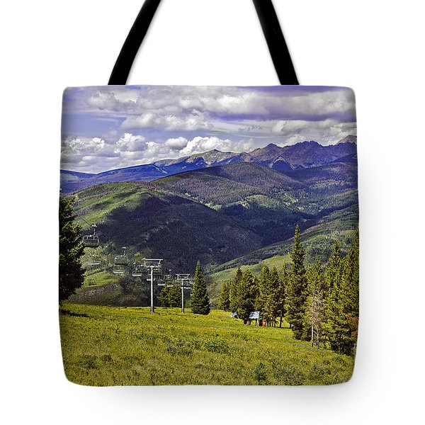 Summer Lifts - Vail Tote Bag