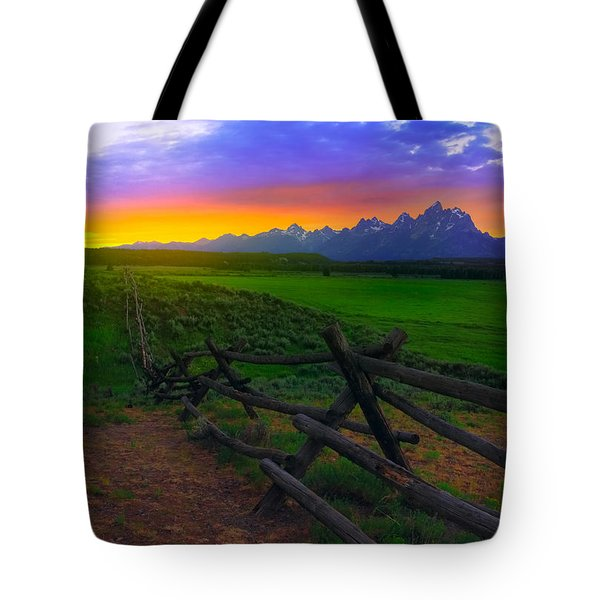 Summer Light Tote Bag
