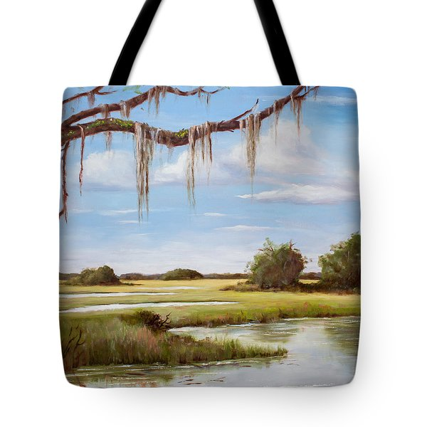 Summer Marsh Tote Bag
