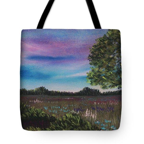 Summer Meadow Tote Bag by Anastasiya Malakhova