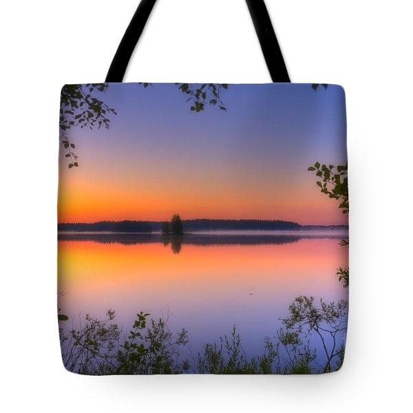 Summer Morning At 02.05 Tote Bag