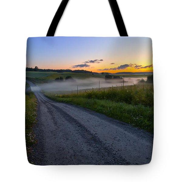 Summer Morning At 3.31 Tote Bag