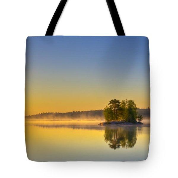 Summer Morning At 5.05  Tote Bag