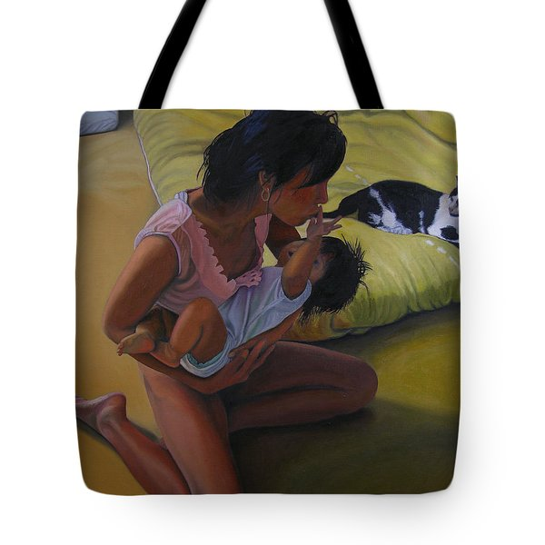 Summer Morning Cabot Arkansas Tote Bag