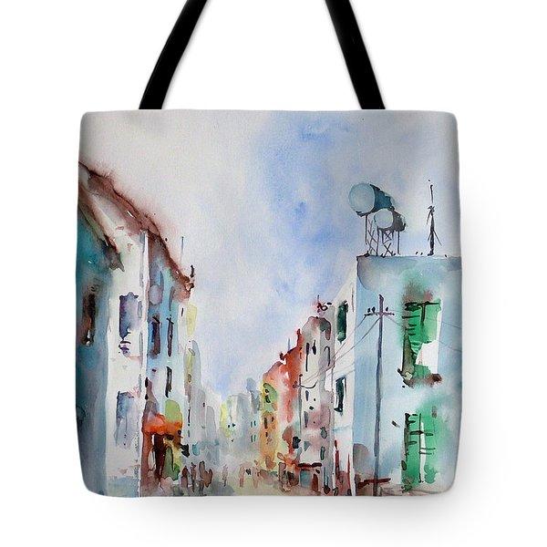 Summer Morning Tote Bag by Faruk Koksal