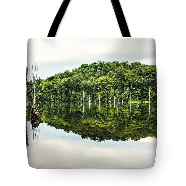 Summer Morning On Monksville Reservoir 2 Tote Bag