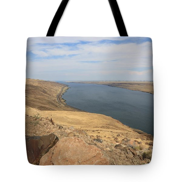 Summer On The Columbia River Tote Bag by Carol Groenen