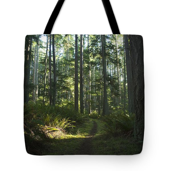 Summer Pacific Northwest Forest Tote Bag