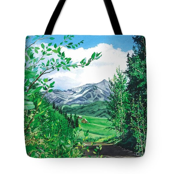 Summer Paradise Tote Bag