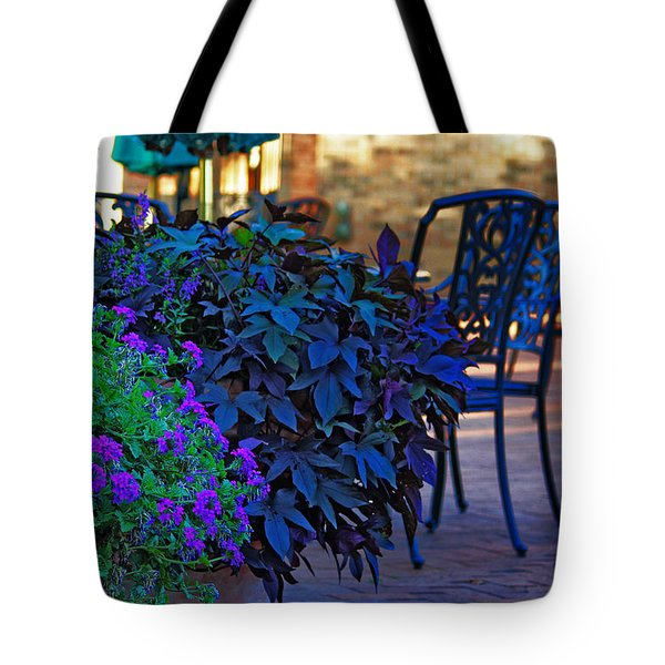 Summer Patio Tote Bag