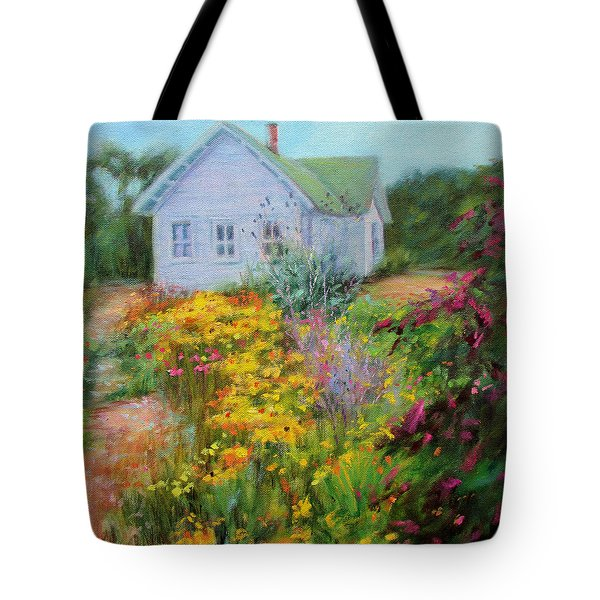 Summer Place- On The Outer Banks Tote Bag by Bonnie Mason