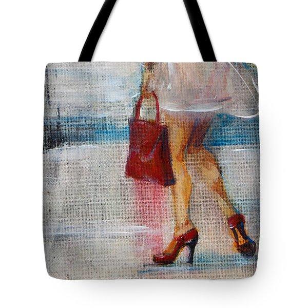 Summer Rain  Tote Bag by Jani Freimann