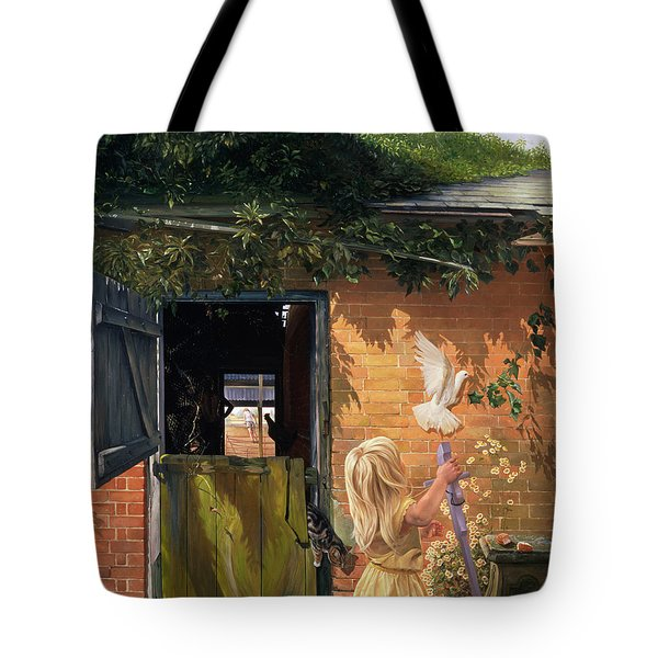 Summer Reflection Tote Bag by Timothy  Easton
