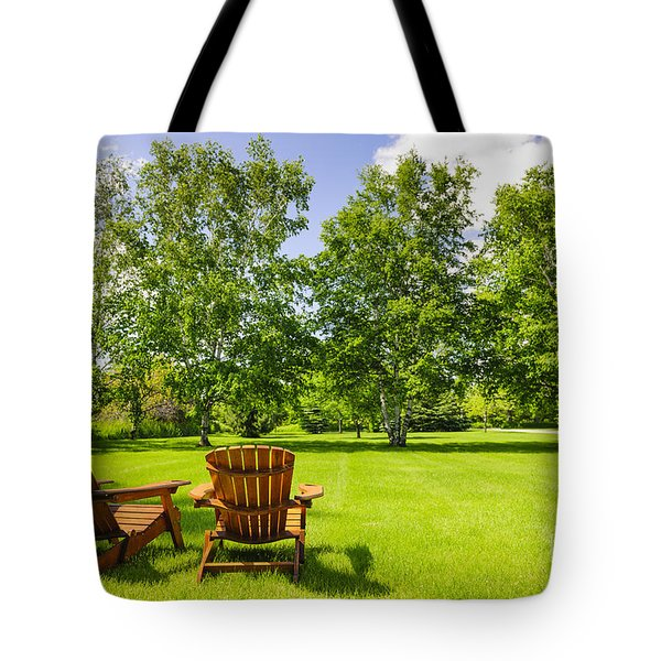 Summer Relaxing Tote Bag