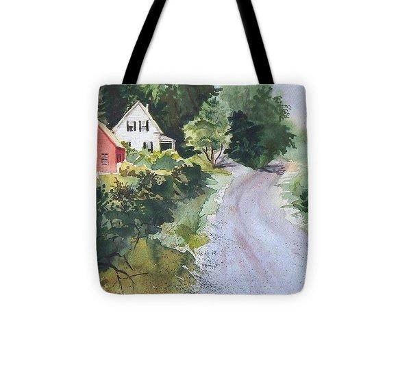 Summer Road Tote Bag by Joy Nichols