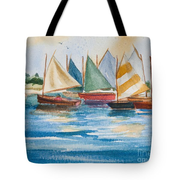 Summer Sail Tote Bag
