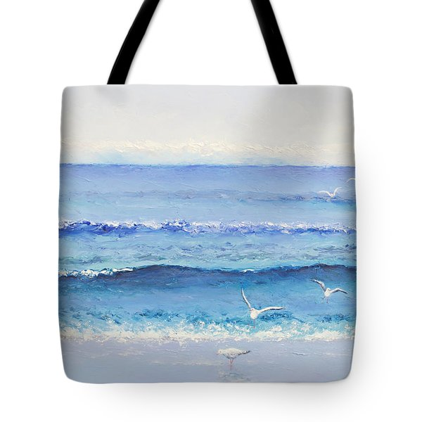 Summer Seascape Tote Bag