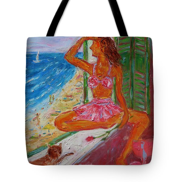 Summer Sensibility Tote Bag by Xueling Zou