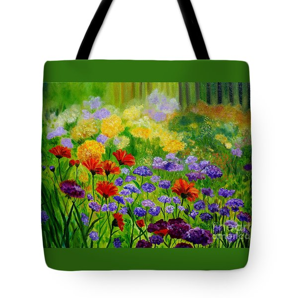 Summer Show Tote Bag by Julie Brugh Riffey