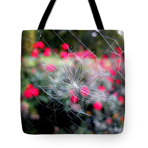Tote Bag featuring the photograph Summer Snowflake by Greg Simmons