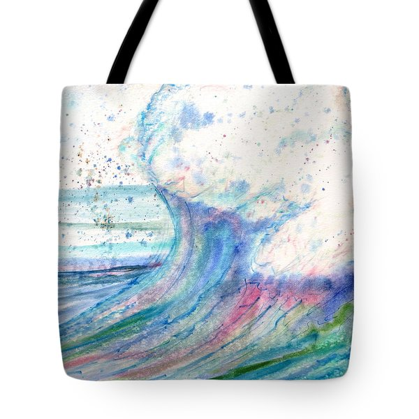 Summer Spray Tote Bag